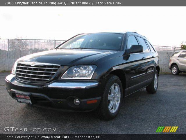 Brilliant Black - 2006 Chrysler Pacifica Touring AWD - Dark Slate Gray ...