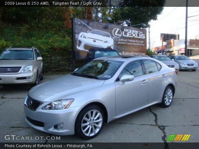 2009 Lexus IS 250 AWD in Tungsten Pearl