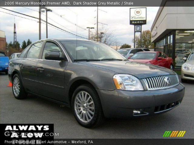 dark shadow grey metallic 2006 mercury montego premier. Black Bedroom Furniture Sets. Home Design Ideas