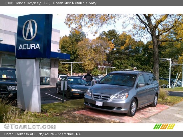 2006 Honda Odyssey EX-L in Ocean Mist Metallic