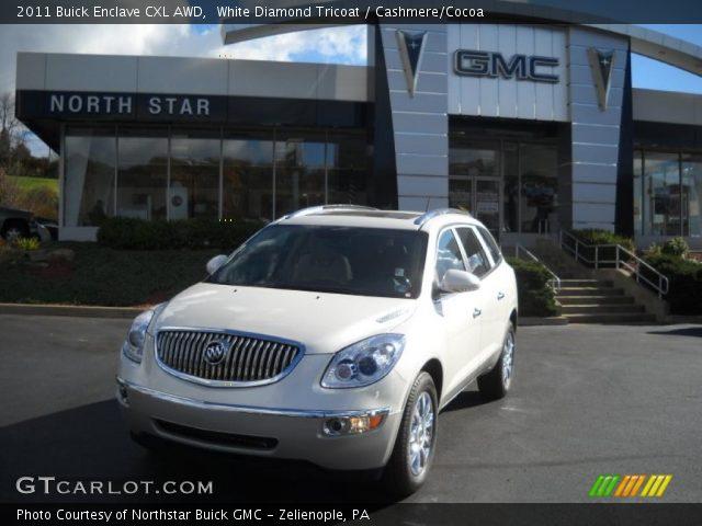 Buick Enclave 2011 White Diamond. Buick Enclave White. 2011+uick