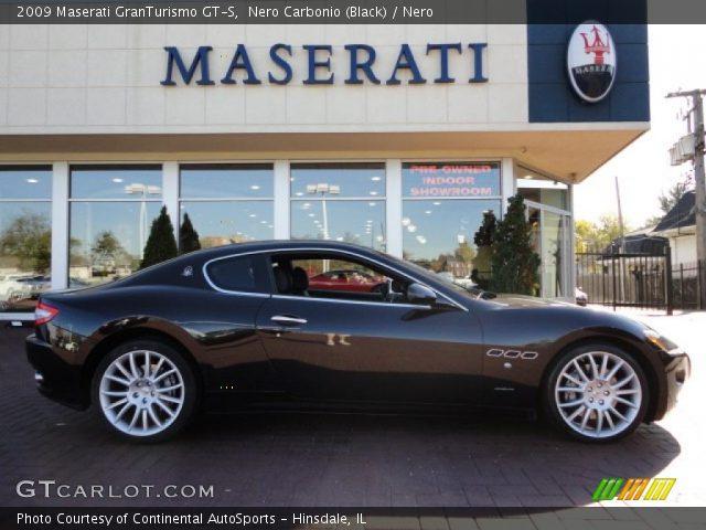 Nero Carbonio Black 2009 Maserati Granturismo Gt S Nero Interior Vehicle