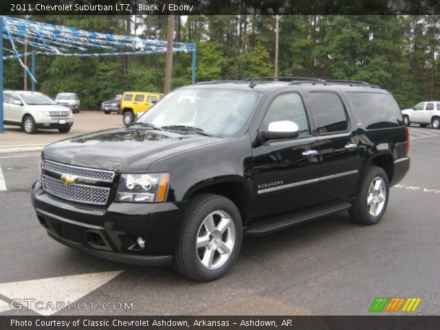 black 2011 chevrolet suburban ltz ebony interior. Black Bedroom Furniture Sets. Home Design Ideas