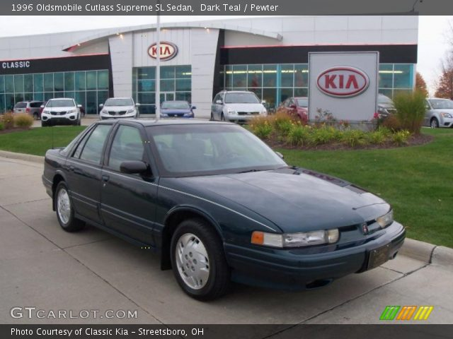 1996 Oldsmobile Cutlass Supreme SL Sedan in Dark Teal