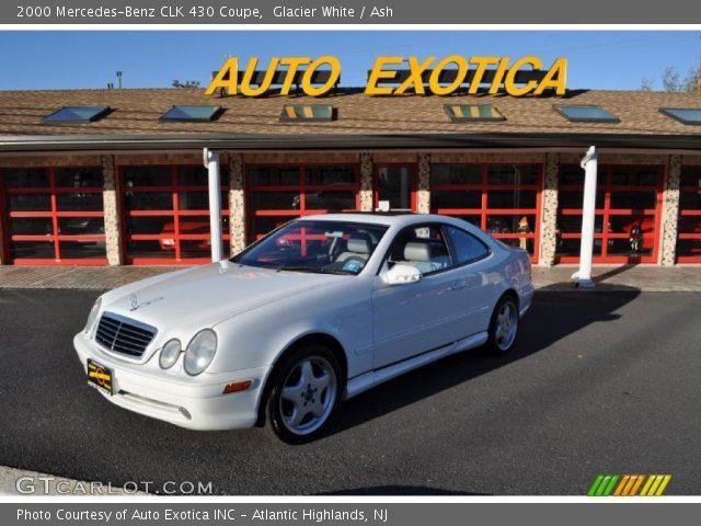 2000 Mercedes-Benz CLK 430 Coupe in Glacier White