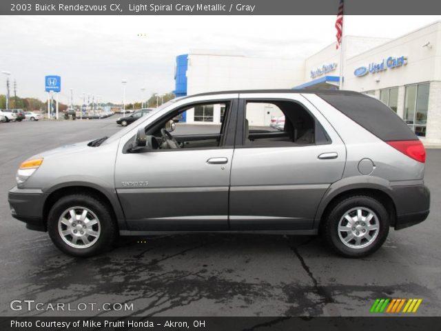 2003 Buick Rendezvous CX in Light Spiral Gray Metallic