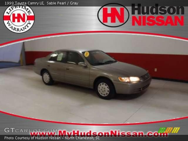 sable pearl 1999 toyota camry le gray interior vehicle archive 38687451. Black Bedroom Furniture Sets. Home Design Ideas