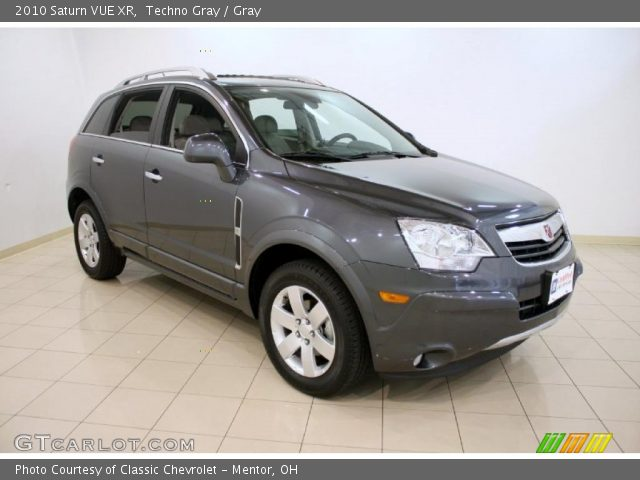 techno gray 2010 saturn vue xr gray interior vehicle archive 38690577. Black Bedroom Furniture Sets. Home Design Ideas