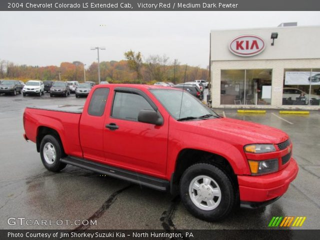 2004 Chevrolet Colorado LS Extended Cab in Victory Red