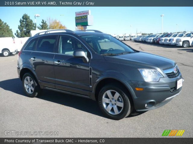 techno gray 2010 saturn vue xr v6 awd gray interior vehicle archive 38689644. Black Bedroom Furniture Sets. Home Design Ideas