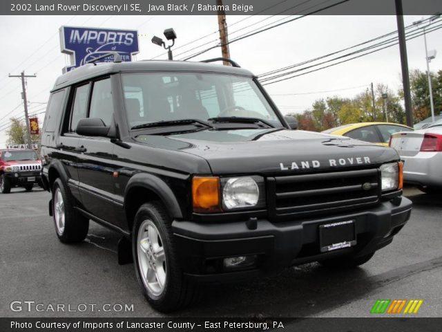 java black 2002 land rover discovery ii se bahama beige interior vehicle. Black Bedroom Furniture Sets. Home Design Ideas