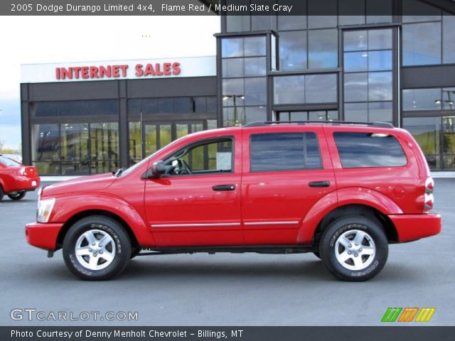 flame red 2005 dodge durango limited 4x4 medium slate. Black Bedroom Furniture Sets. Home Design Ideas