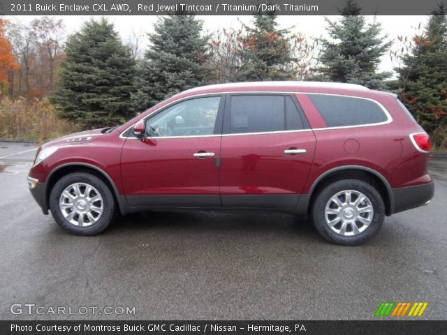2011 Buick Enclave CXL AWD in Red Jewel Tintcoat
