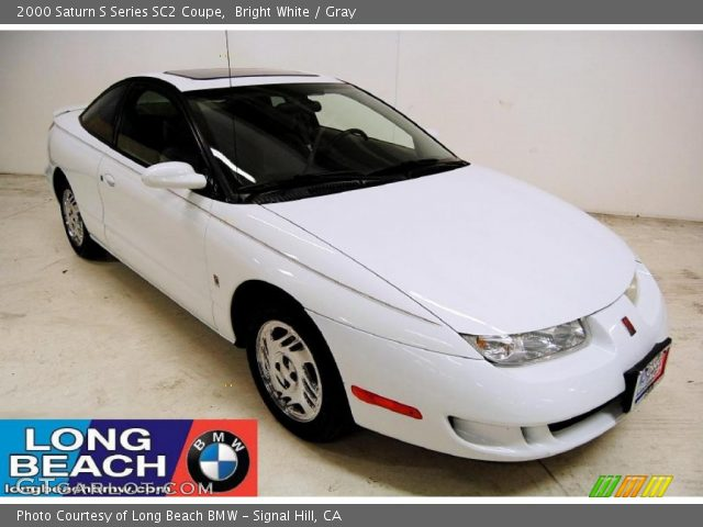 bright white 2000 saturn s series sc2 coupe gray interior vehicle archive. Black Bedroom Furniture Sets. Home Design Ideas