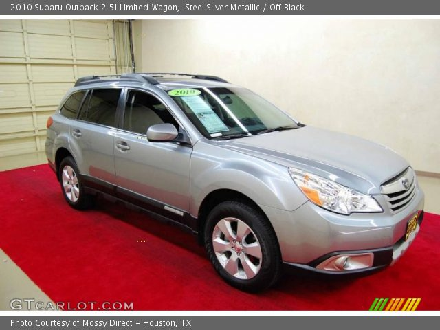 steel silver metallic 2010 subaru outback limited. Black Bedroom Furniture Sets. Home Design Ideas