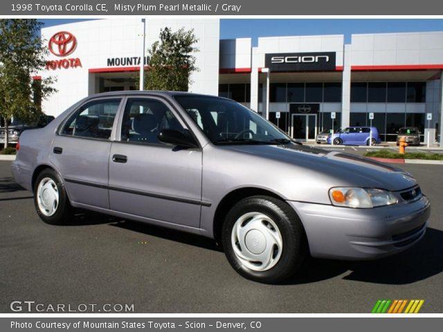 1998 Toyota Corolla CE in Misty Plum Pearl Metallic