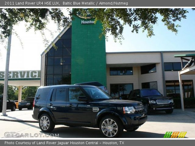 2011 Land Rover LR4 HSE LUX in Baltic Blue Metallic