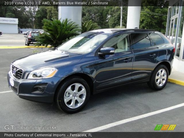 2010 Volvo XC60 3.2 AWD in Barents Blue Metallic