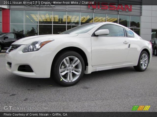 winter frost white 2011 nissan altima 2 5 s coupe. Black Bedroom Furniture Sets. Home Design Ideas