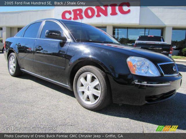 black 2005 ford five hundred se shale grey interior vehicle archive 38917589. Black Bedroom Furniture Sets. Home Design Ideas