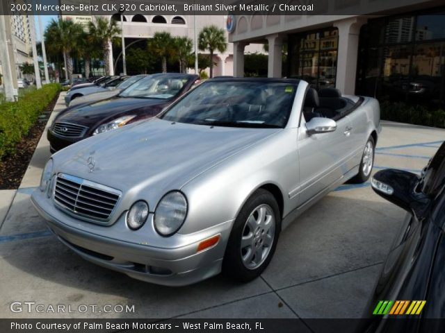 Brilliant Silver Metallic 2002 Mercedes Benz Clk 320