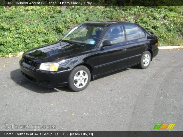 Hyundai Accent 2002 Black. Black 2002 Hyundai Accent