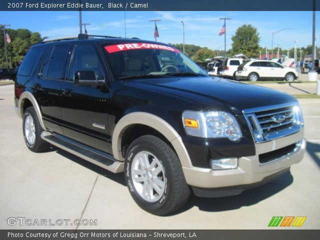 black 2007 ford explorer eddie bauer camel interior vehicle archive 38917778. Black Bedroom Furniture Sets. Home Design Ideas