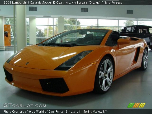2008 Lamborghini Gallardo Spyder E-Gear in Arancio Borealis (Orange)