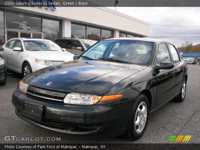 Green 2000 Saturn L Series Ls Sedan Black Interior Gtcarlot