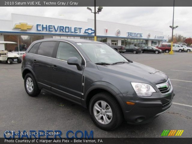techno gray 2010 saturn vue xe gray interior vehicle archive 38918311. Black Bedroom Furniture Sets. Home Design Ideas