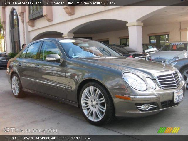 2008 Mercedes-Benz E 350 Sedan in Indium Grey Metallic
