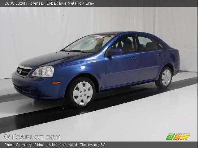 2008 Suzuki Forenza  in Cobalt Blue Metallic