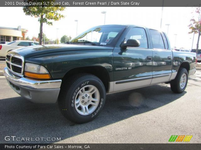 forest green pearl 2001 dodge dakota slt quad cab dark. Black Bedroom Furniture Sets. Home Design Ideas