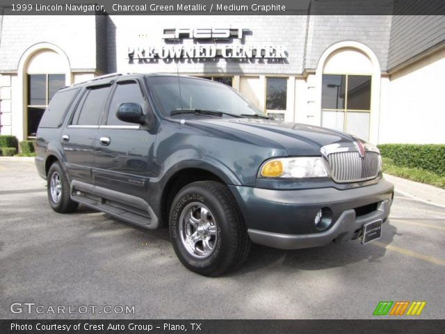 charcoal green metallic 1999 lincoln navigator medium. Black Bedroom Furniture Sets. Home Design Ideas