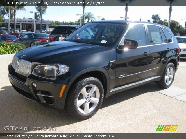 black sapphire metallic 2011 bmw x5 xdrive 50i oyster. Black Bedroom Furniture Sets. Home Design Ideas