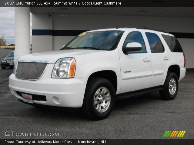 2007 GMC Yukon SLE 4x4 in Summit White