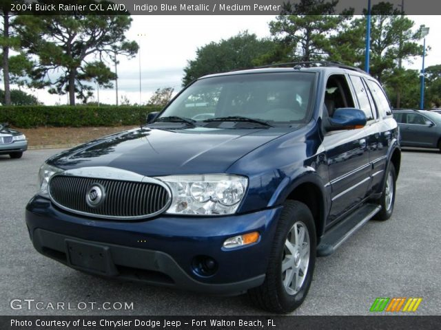 2004 Buick Rainier CXL AWD in Indigo Blue Metallic