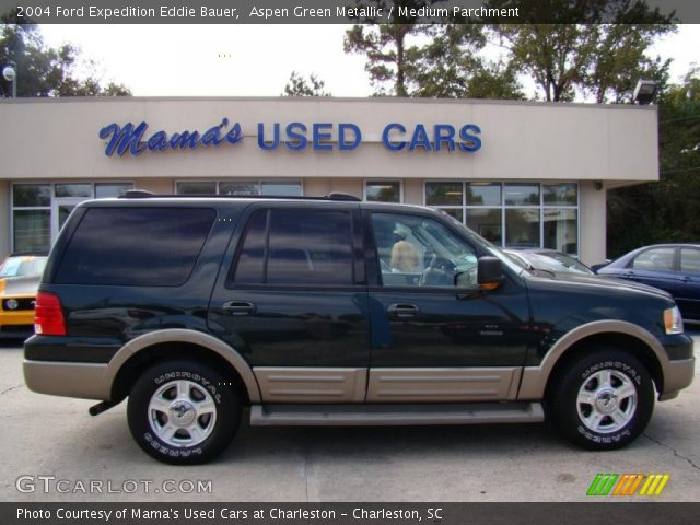 aspen green metallic 2004 ford expedition eddie bauer. Black Bedroom Furniture Sets. Home Design Ideas