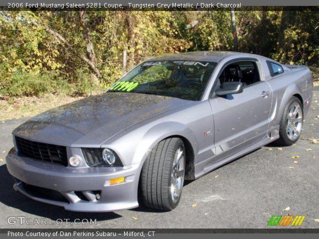 Tungsten Grey Metallic 2006 Ford Mustang Saleen S281