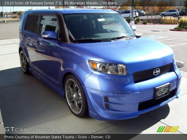 2010 Scion xB Release Series 7.0 in RS Murasaki Metallic