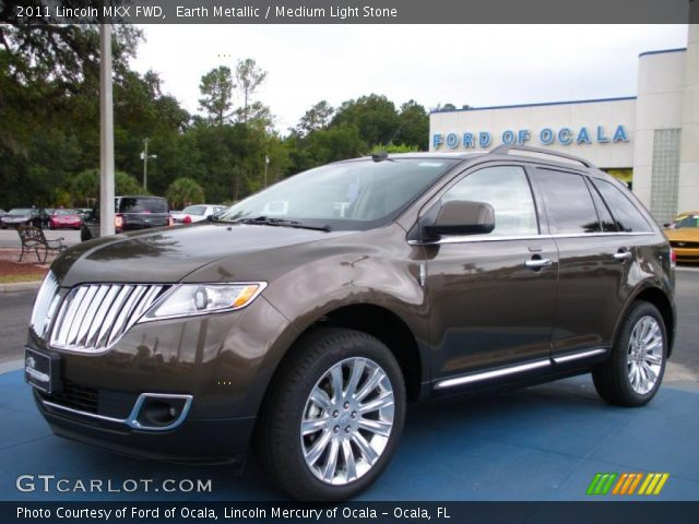 2011 Lincoln MKX FWD in Earth Metallic