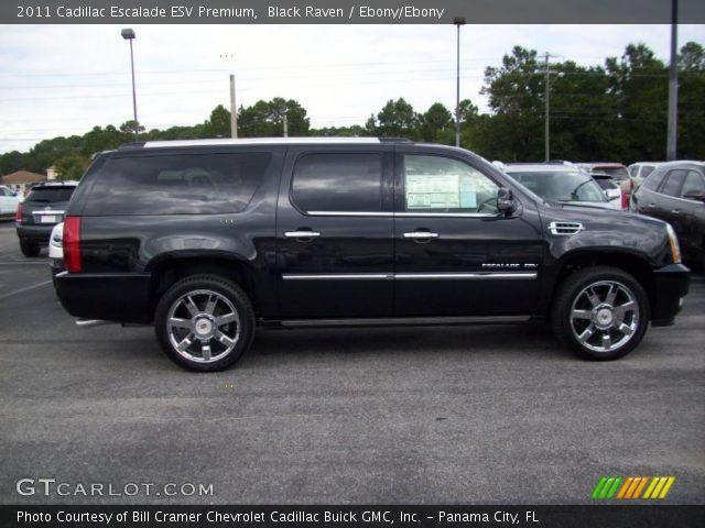 2011 Cadillac Escalade ESV Premium in Black Raven