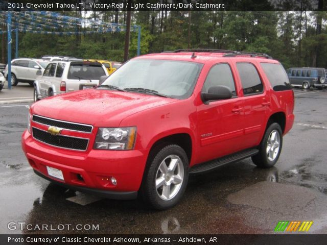 2011 Chevrolet Tahoe LT in Victory Red
