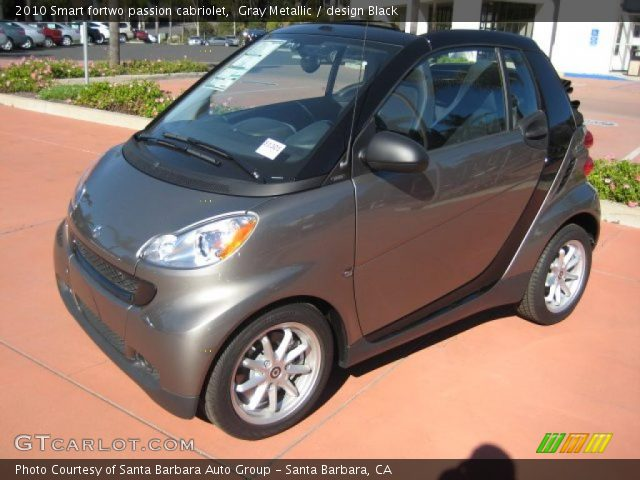 2010 Smart fortwo passion cabriolet in Gray Metallic