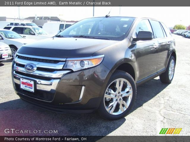 earth metallic 2011 ford edge limited awd charcoal black interior vehicle. Black Bedroom Furniture Sets. Home Design Ideas