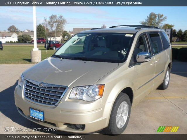 2010 Chrysler Town & Country Touring in White Gold