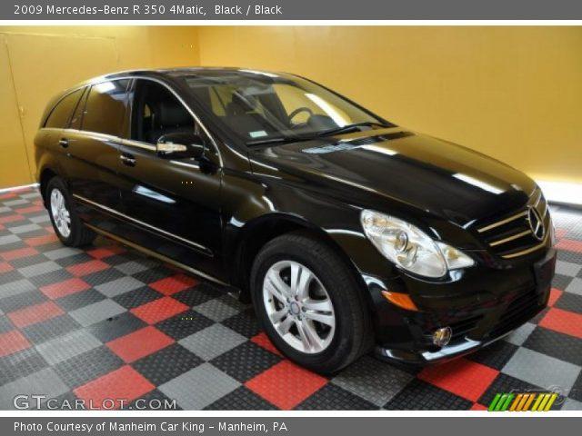 2009 Mercedes-Benz R 350 4Matic in Black