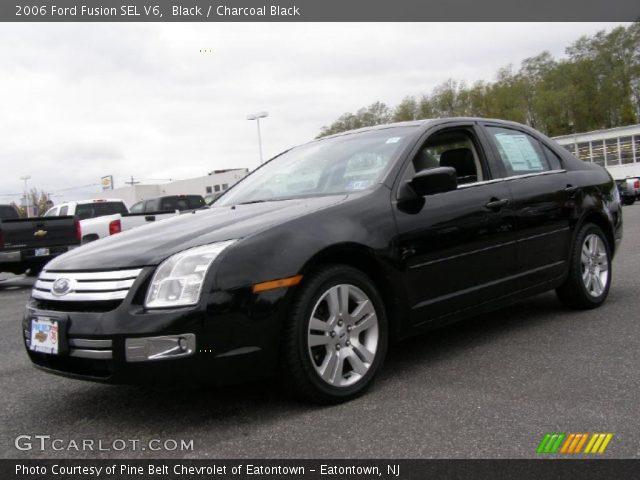 black 2006 ford fusion sel v6 charcoal black interior vehicle archive 39325754. Black Bedroom Furniture Sets. Home Design Ideas