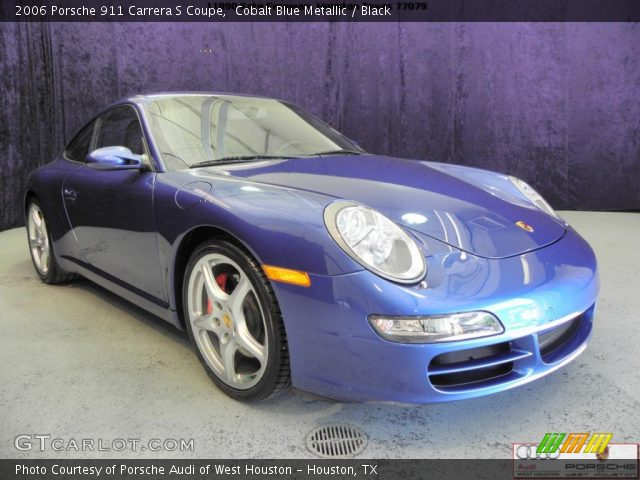 cobalt blue metallic 2006 porsche 911 carrera s coupe. Black Bedroom Furniture Sets. Home Design Ideas