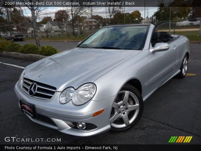 Iridium silver metallic 2006 mercedes benz clk 500 for 2006 mercedes benz clk 500